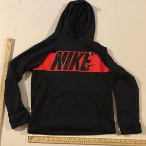 Nike Boys Dri Fit Hoodie Size Large